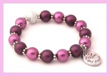 purple rain losse armband 1