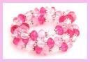XXL roze fuchsia transparant