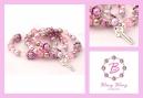 roze lila bling bling set